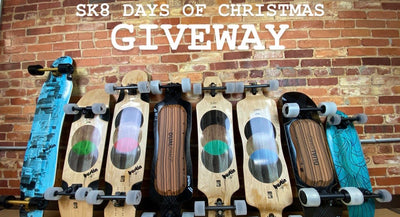 SK8 Days of Christmas Giveaway Contest