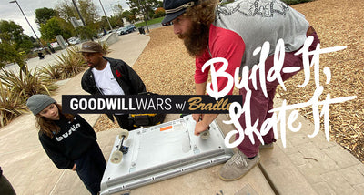 Goodwill Wars w/ Braille Skate