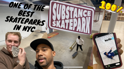 New 'Substance Skatepark' In Brooklyn