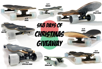 SK8 Days Giveaway - Winner Announcements