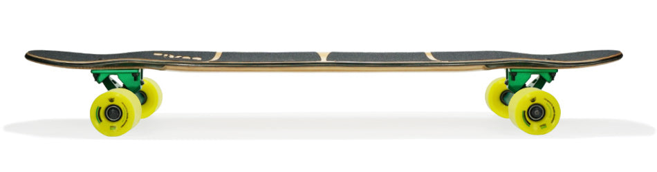 shrike longboard side view
