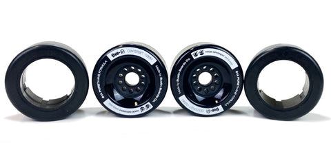 Five-O™ 100mm Hybrid Wheel Set (black)