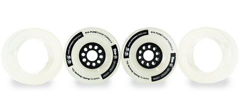 Five-O™ 100mm Hybrid Wheel Set (clear)
