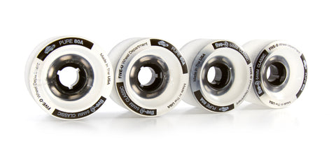 64mm Classic Clear - Five-O™ Wheels