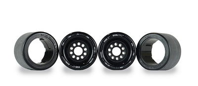 Five-O™ 83mm Hybrid Wheel Set (black)
