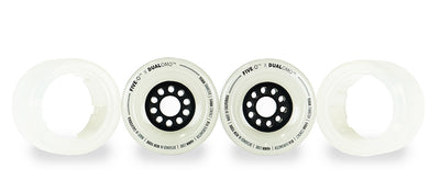 Five-O™ 90mm Hybrid Wheel Set (clear)
