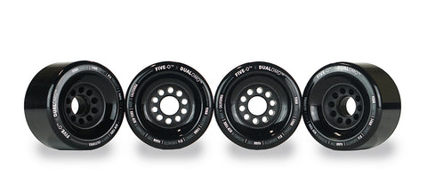 Five-O™ 90mm Standard Wheel Set (black)