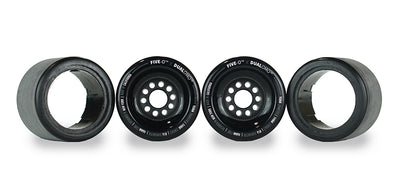 Five-O™ 90mm Hybrid Wheel Set (black)
