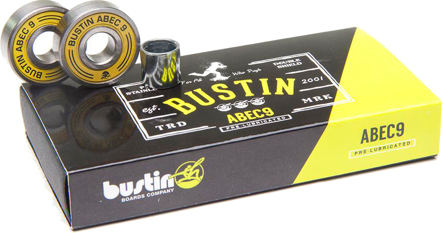 Abec-9 Speed Bearings - Bustin Boards Co.™