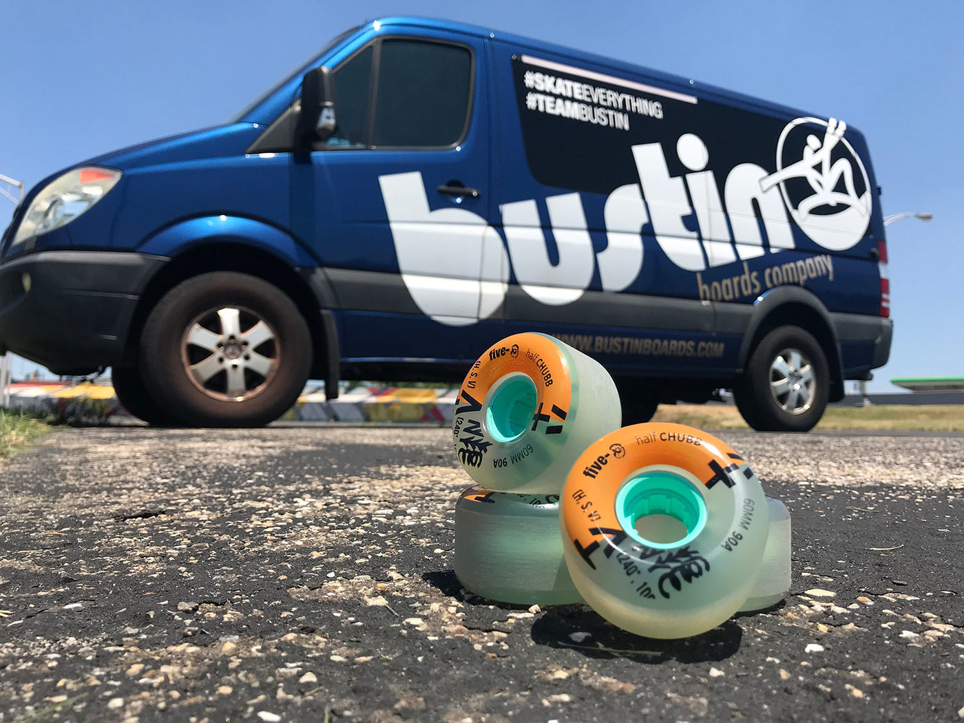 60mm Half Chubbs Clear - Five-O™ Wheels