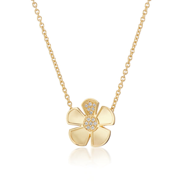 ALESSIA LARGE CLASSIC CHAIN NECKLACE - 18K YELLOW GOLD