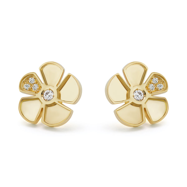 ALESSIA SMALL EARRINGS - 18K YELLOW GOLD