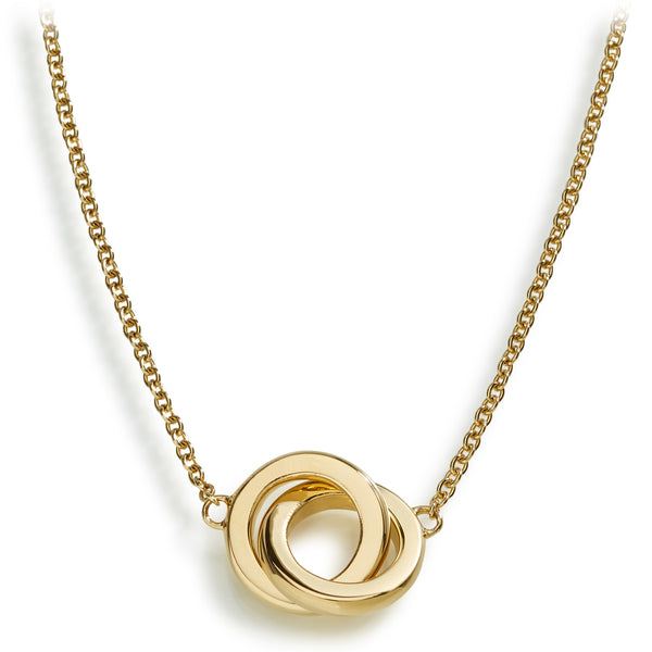 DUETTO NECKLACE - 18K YELLOW GOLD