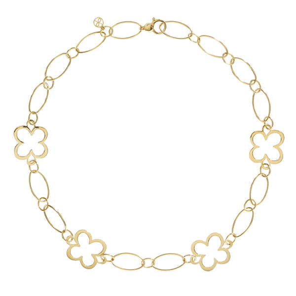 FIORE LARGE LINK CHAIN NECKLACE