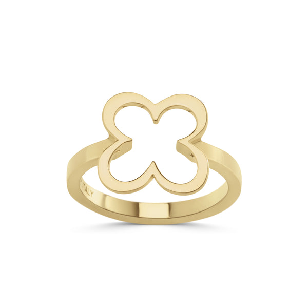 FIORE RING - 18K YELLOW GOLD