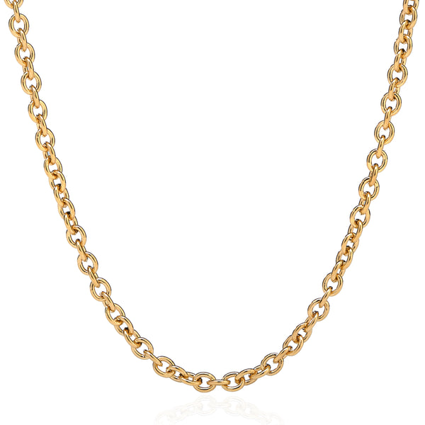 "LUXE CHAIN 16"" - 18"" - 18K YELLOW GOLD"