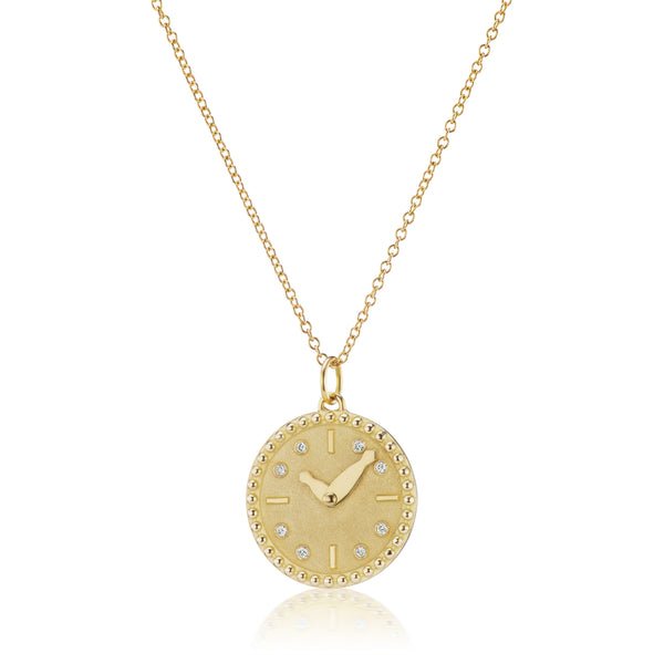 MY TIME BRILLIANT CHAIN NECKLACE - 18K YELLOW GOLD