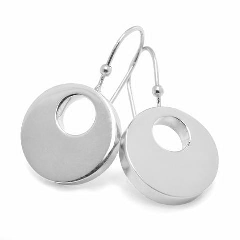 MODERNO EARRINGS - 18K WHITE GOLD