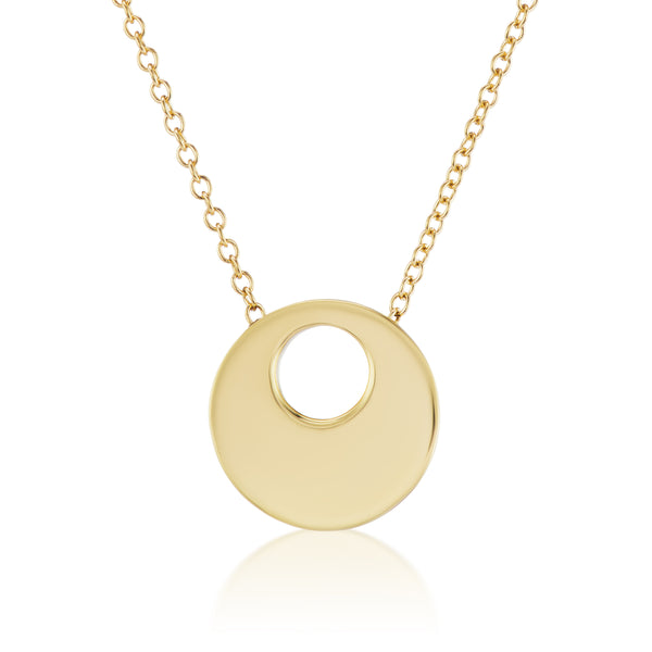 MODERNO NECKLACE - 18K YELLOW GOLD
