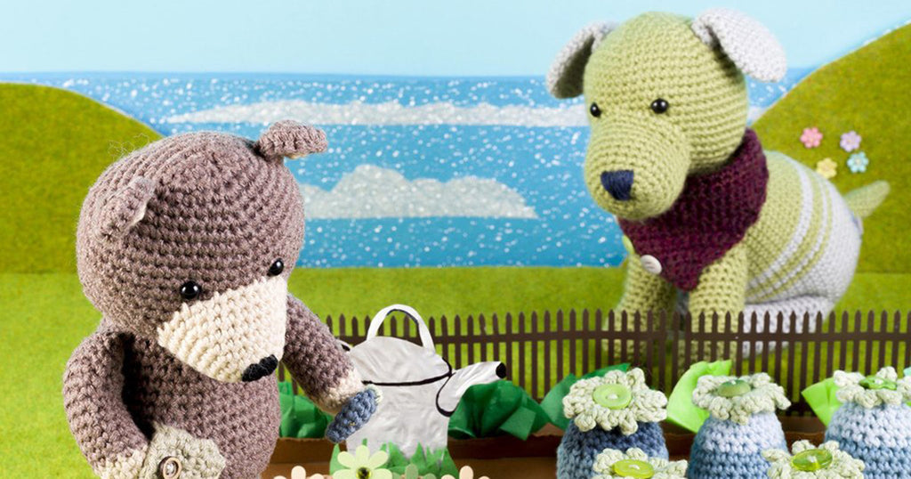How to Crochet Brindley the Bear