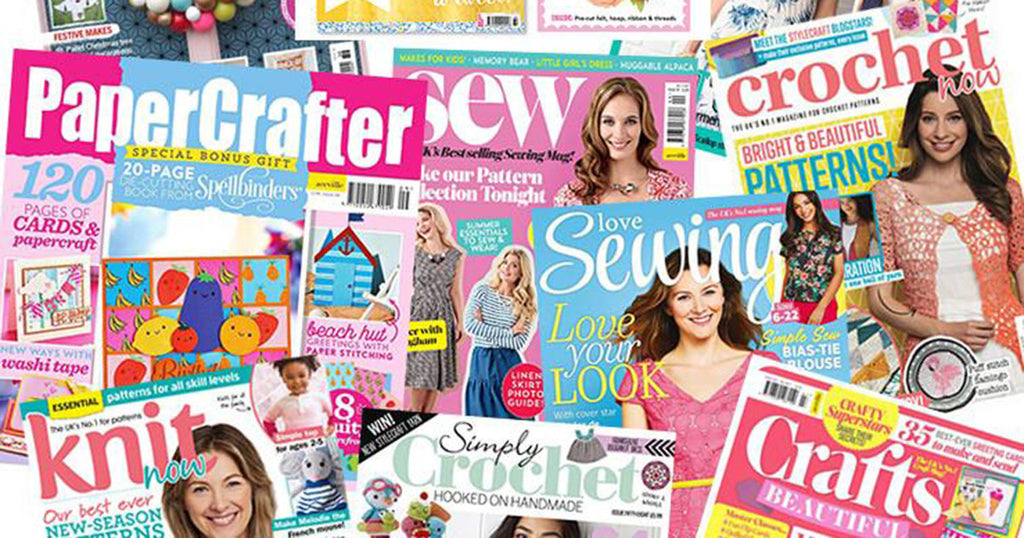 Top 10 magazines for crafters