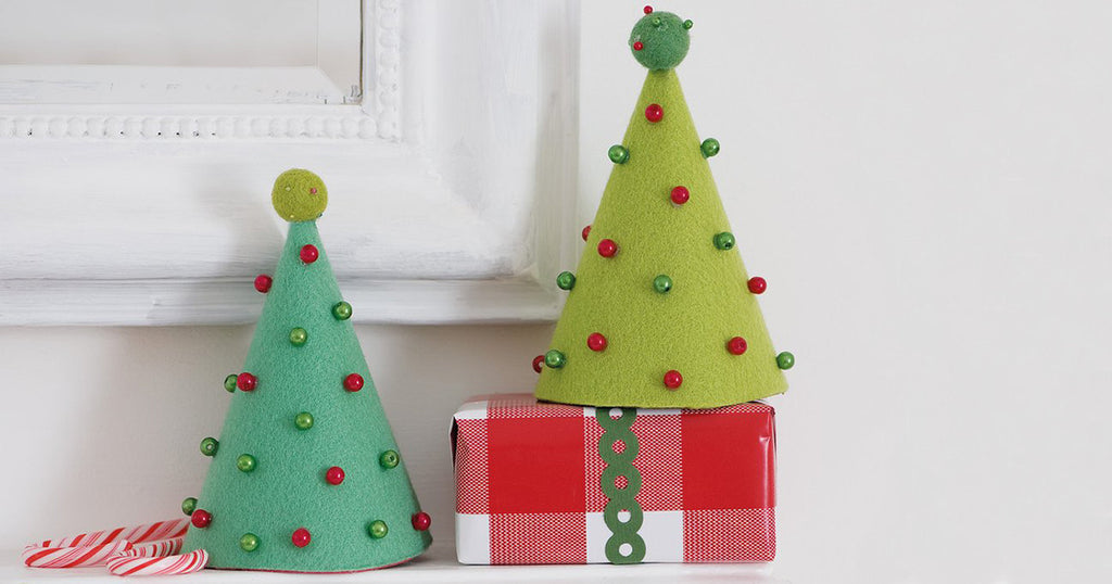 How to make a Felt Cone Christmas Tree