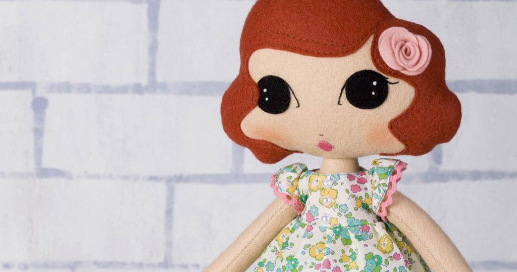 Sew Your Own Dolls - spring-time dress
