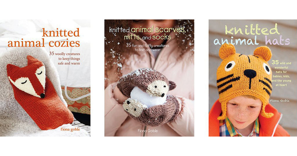 Win a Knitted Animal book bundle
