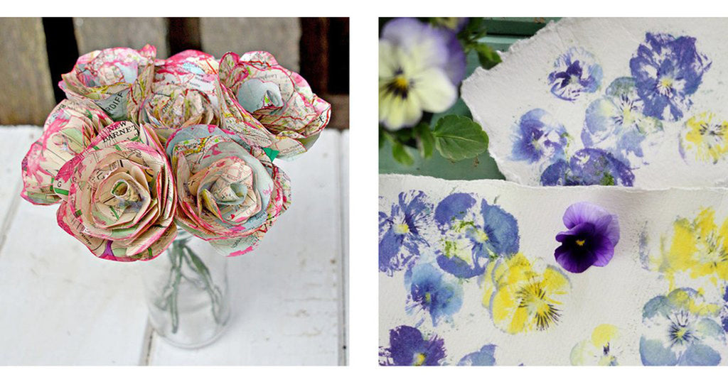 8 flower craft ideas for Mother's Day