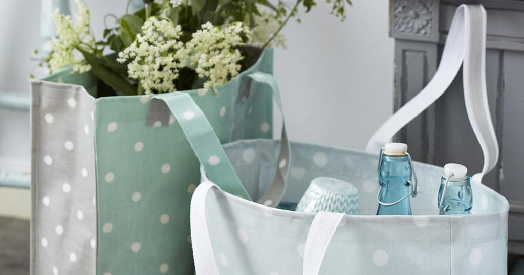 Oilcloth Shopper Bag