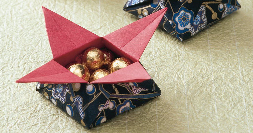 How to make origami sweet treats gift boxes