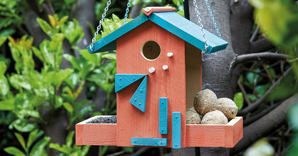 Hip Bird Feeder