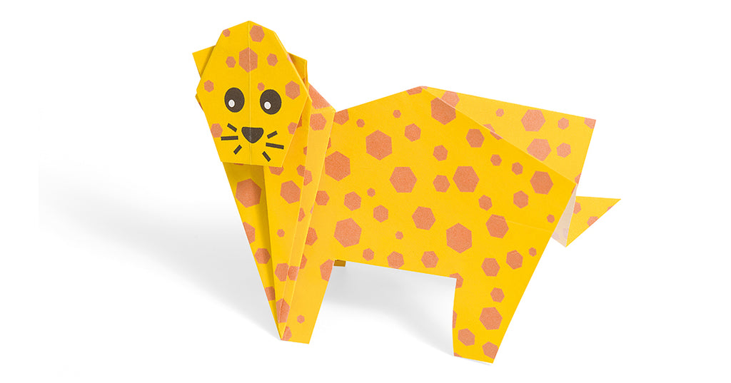 Origami Charlie the Cheetah