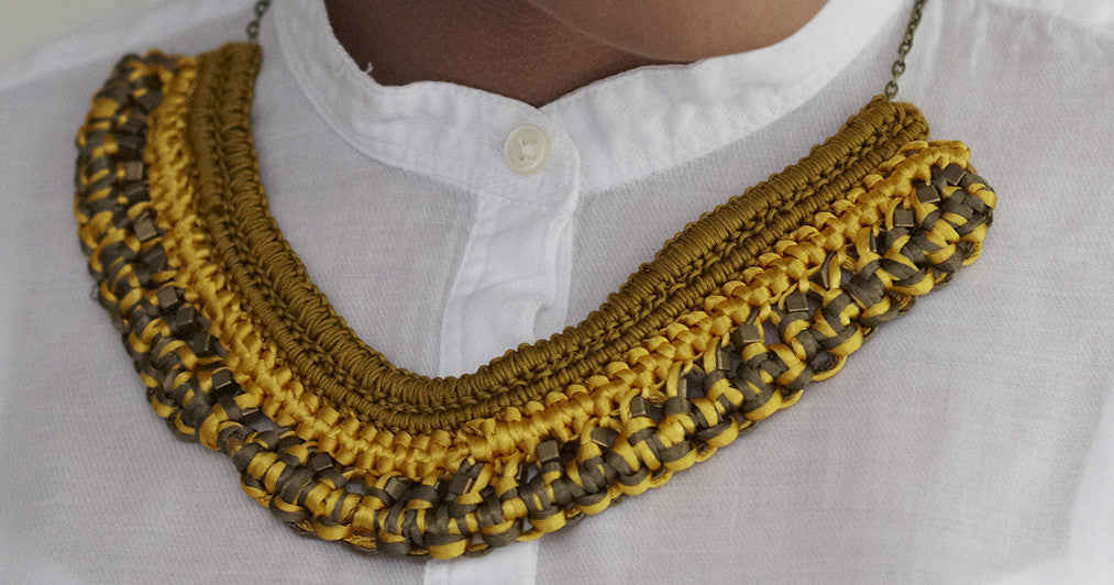 DIY Jewellery Macrame Necklace