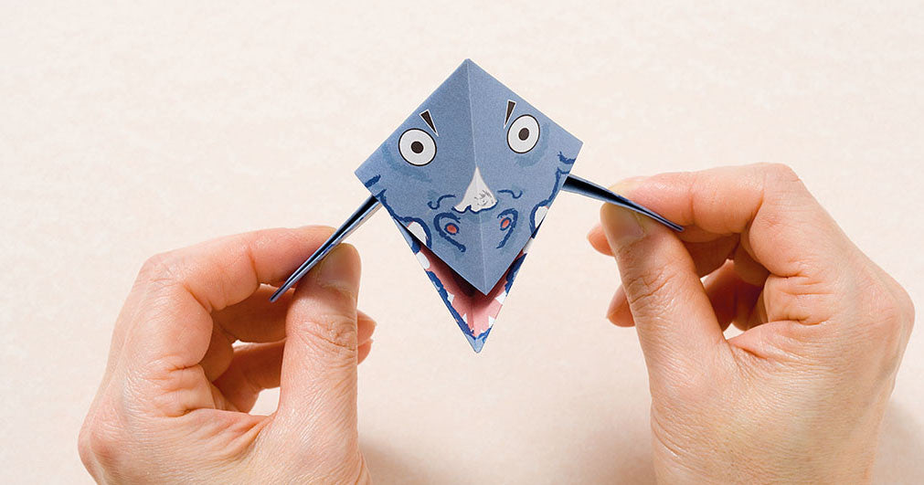 Origami Dinosaur project for kids