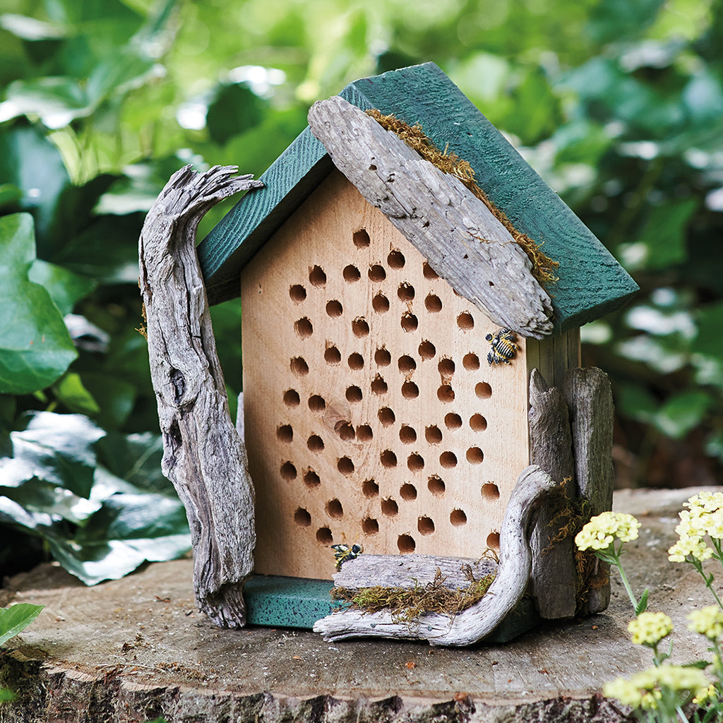 Handmade DIY Bee House