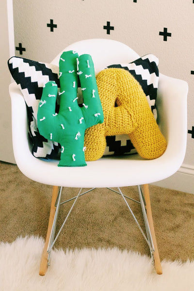 Cacti Cushion Everything Emily Blog