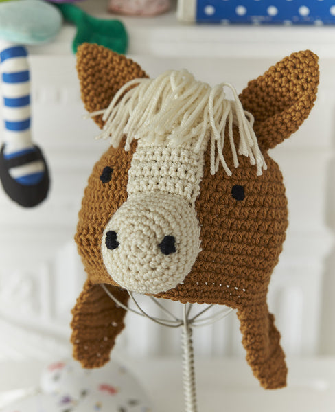 Crochet Pony Hat