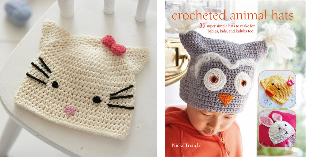Crochet Animal Hats by Nicki Trench