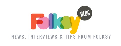 Folksy Craft Blog Logo: News, Interviews & Tips from Folksy