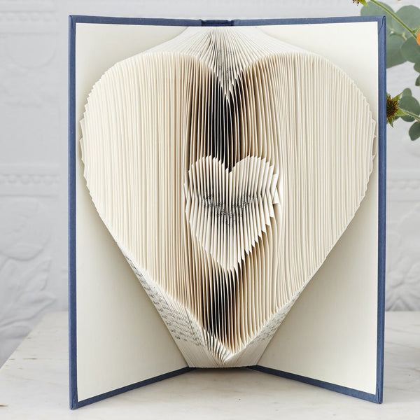Heart Book Art