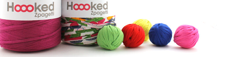 Hoooked Zpagetti Yarn website header