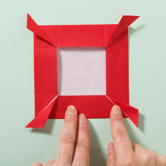 How to make an origami rose fold 10