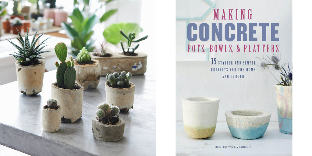 Making Concrete Pots Bowls and Platters