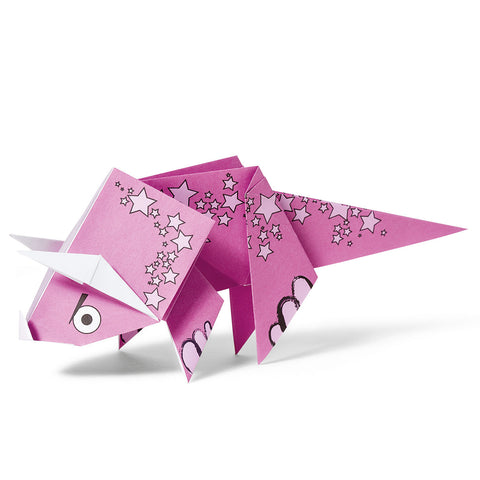 Fun Origami for Kids Triceratops