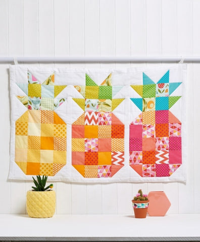 Pineapple Wall Hanging Project