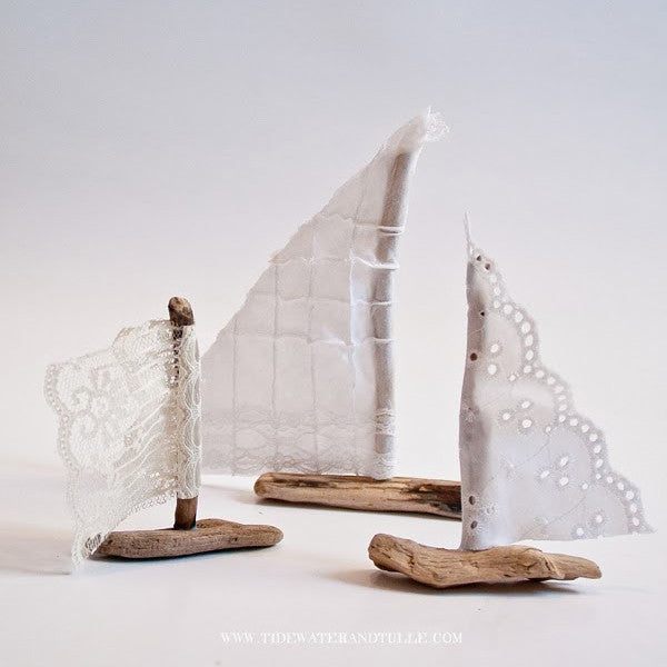 Rustic Sailboats