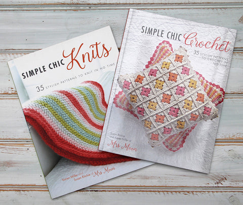 Simple Chic Books by Mrs Moon