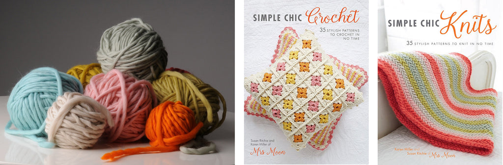 Simple Chic Prize Bundle Mrs Moon Yarn and Books