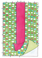 sewing for babies and children on-the-go changing mat step 2